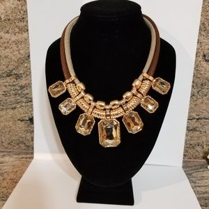 STATEMENT NECKLACE- 16″ WITH 2″ EXTENDER